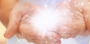 mani scintillanti